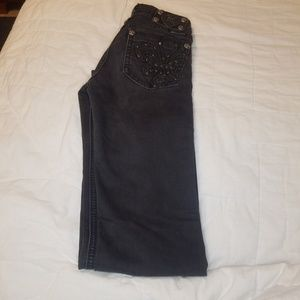 Miss Me Bottoms - Black Miss Me skinny jeans
